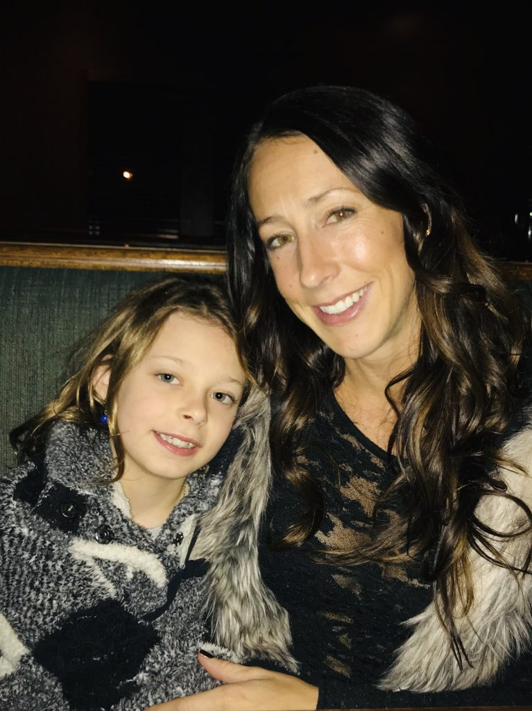 Jen and daughter