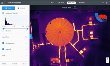California Resources Corporation Uses DroneDeploy to fly and map thermal imagery and conduct thermal inspections